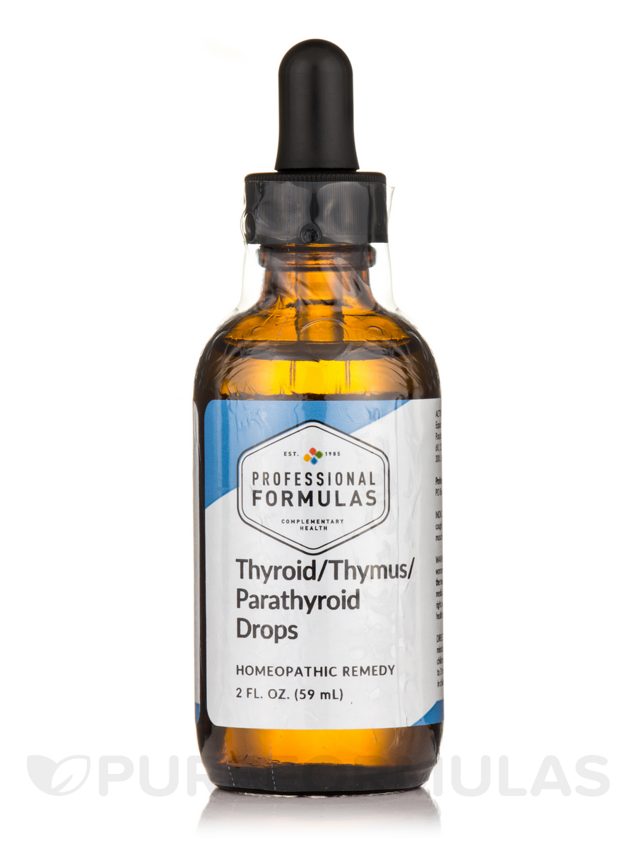 Thyroid Thymus Parathyroid Drops - 2 fl. oz (60 ml)