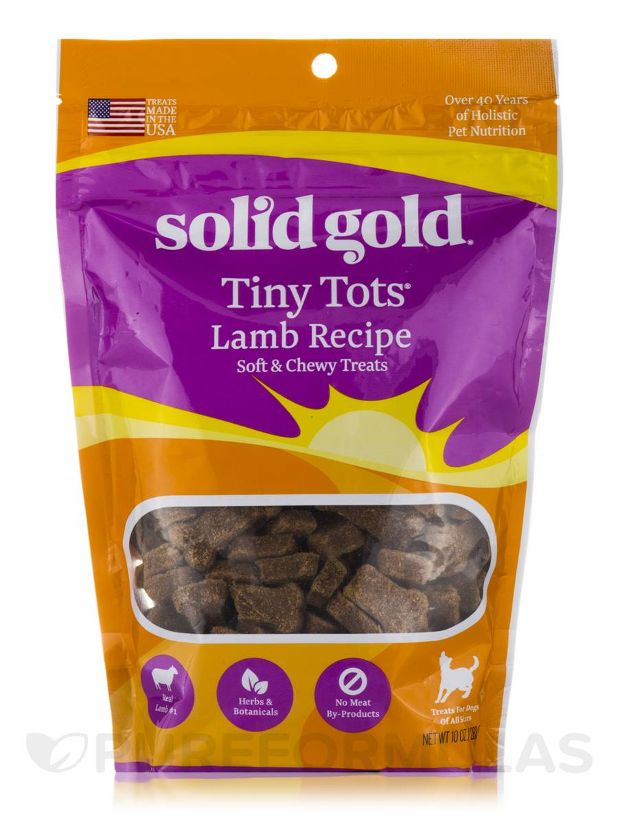 Tiny Tots® Lamb Recipe Treats (Soft and Chewy) - 10 oz (283 Grams)