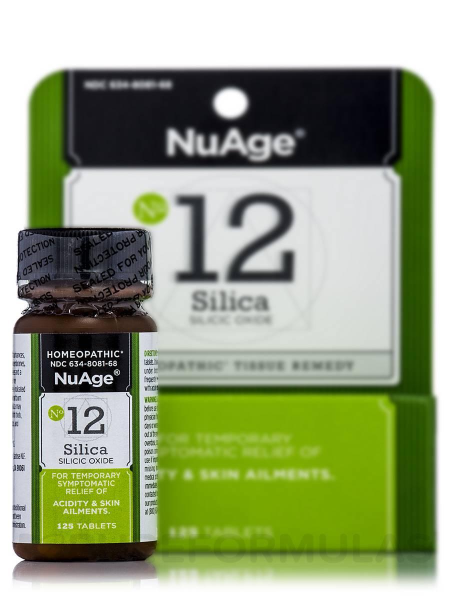Silicea 6X - 125 Tablets