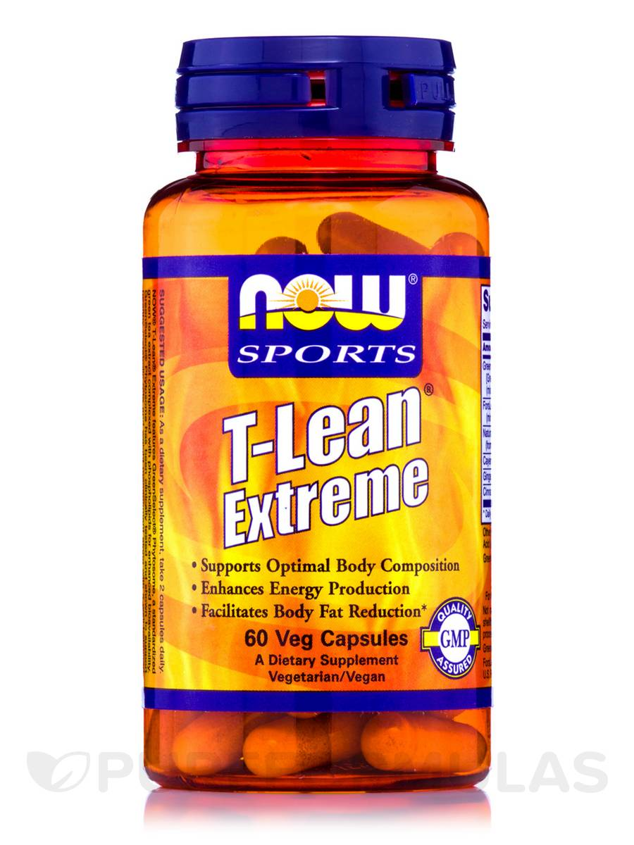NOW® Sports - T-Lean Extreme - 60 Vegetarian Capsules