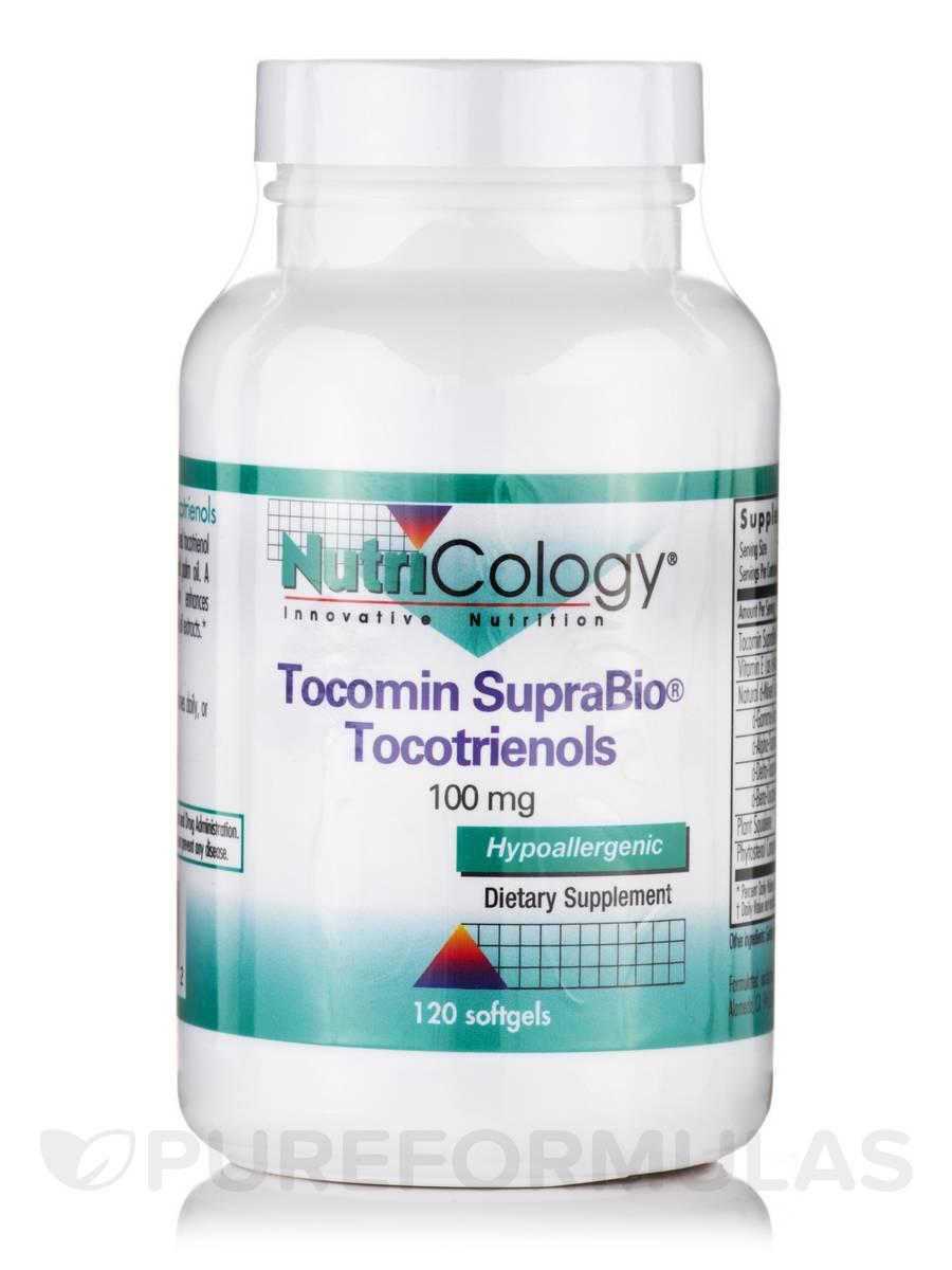 Tocomin SupraBio® Tocotrienols 100 mg - 120 Softgels