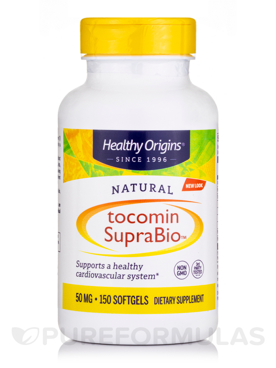 Tocomin SupraBio (Tocotrienols) 50 mg - 150 Softgels