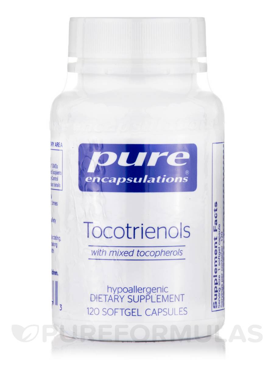 Tocotrienols (with mixed tocopherols) - 120 Softgel Capsules