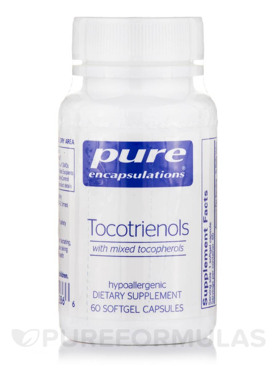Tocotrienols (with mixed tocopherols) - 60 Softgel Capsules