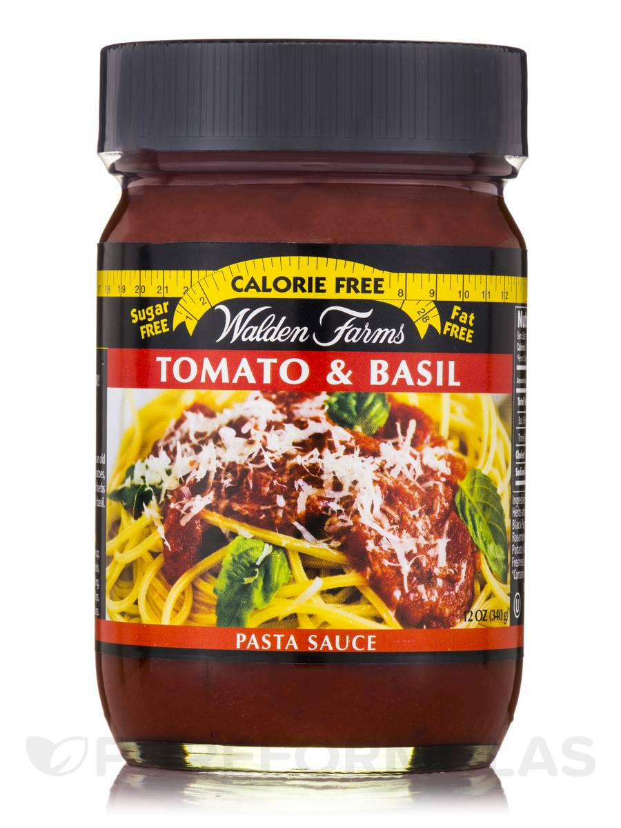 Tomato & Basil Pasta Sauce Jar - 12 oz (340 Grams)