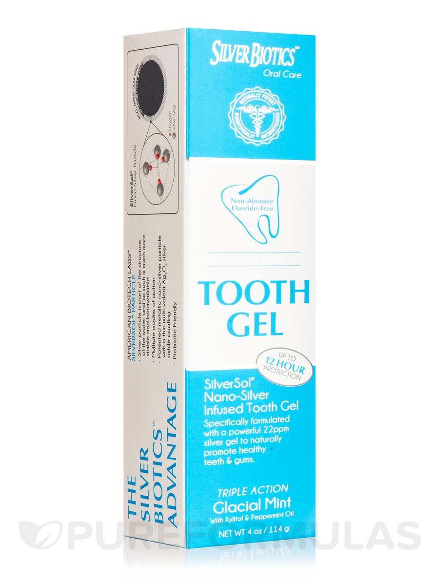 Tooth Gel, Glacial Mint - 4 oz (114 Grams)