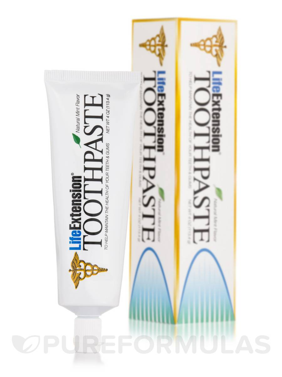 Toothpaste Mint Flavor - 4 oz (113.4 Grams)