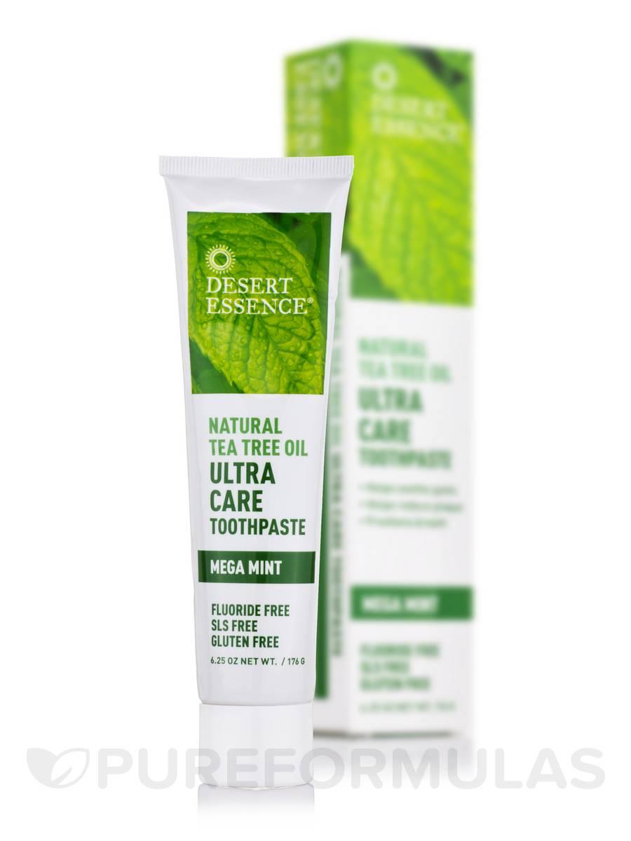 Toothpaste Ultra Care Natural Tea Tree Oil - 6.25 oz (176 Grams)