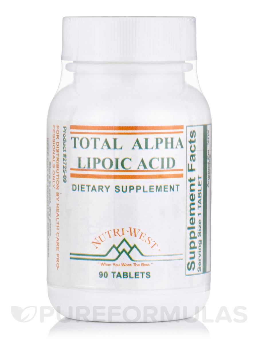 Total Alpha Lipoic Acid - 90 Tablets