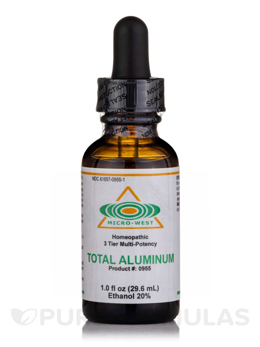 Total Aluminum (Homeopathic) - 1 fl. oz (30 ml)