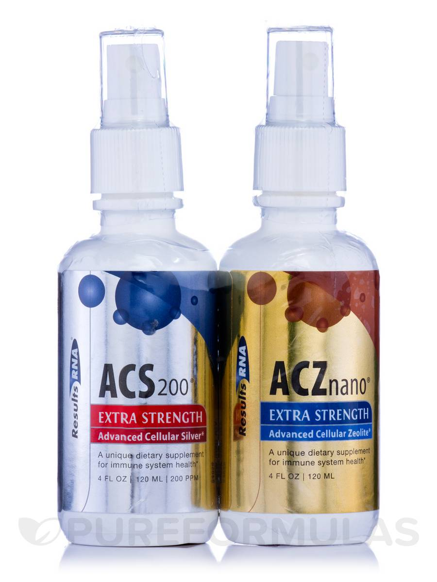 Total Body Detox (ACZ & ACS) - 4 oz Kit