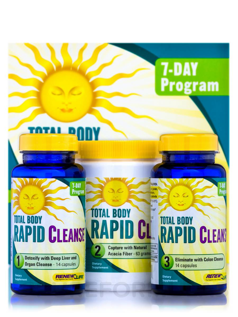 Total Body Rapid Cleanse - 7-Day (3-Part Kit)