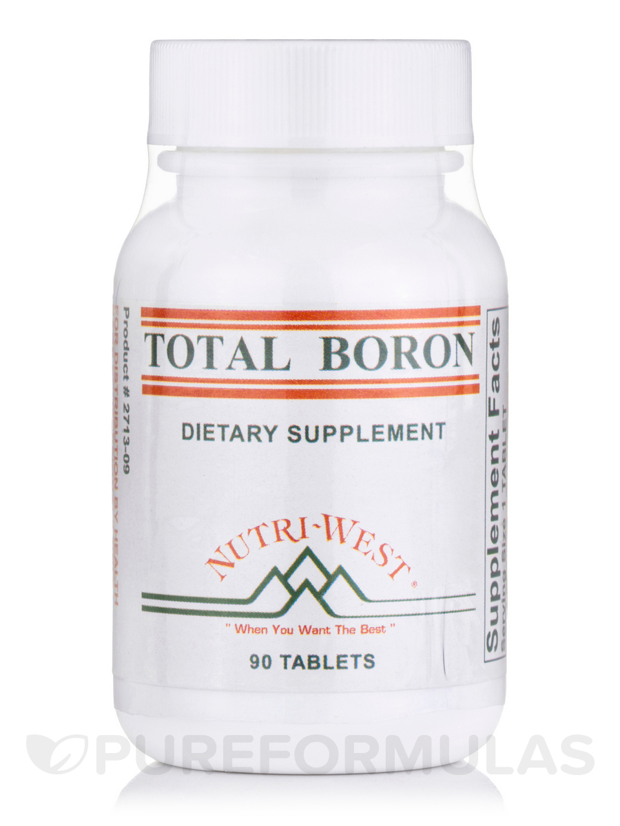 Total Boron - 90 Tablets