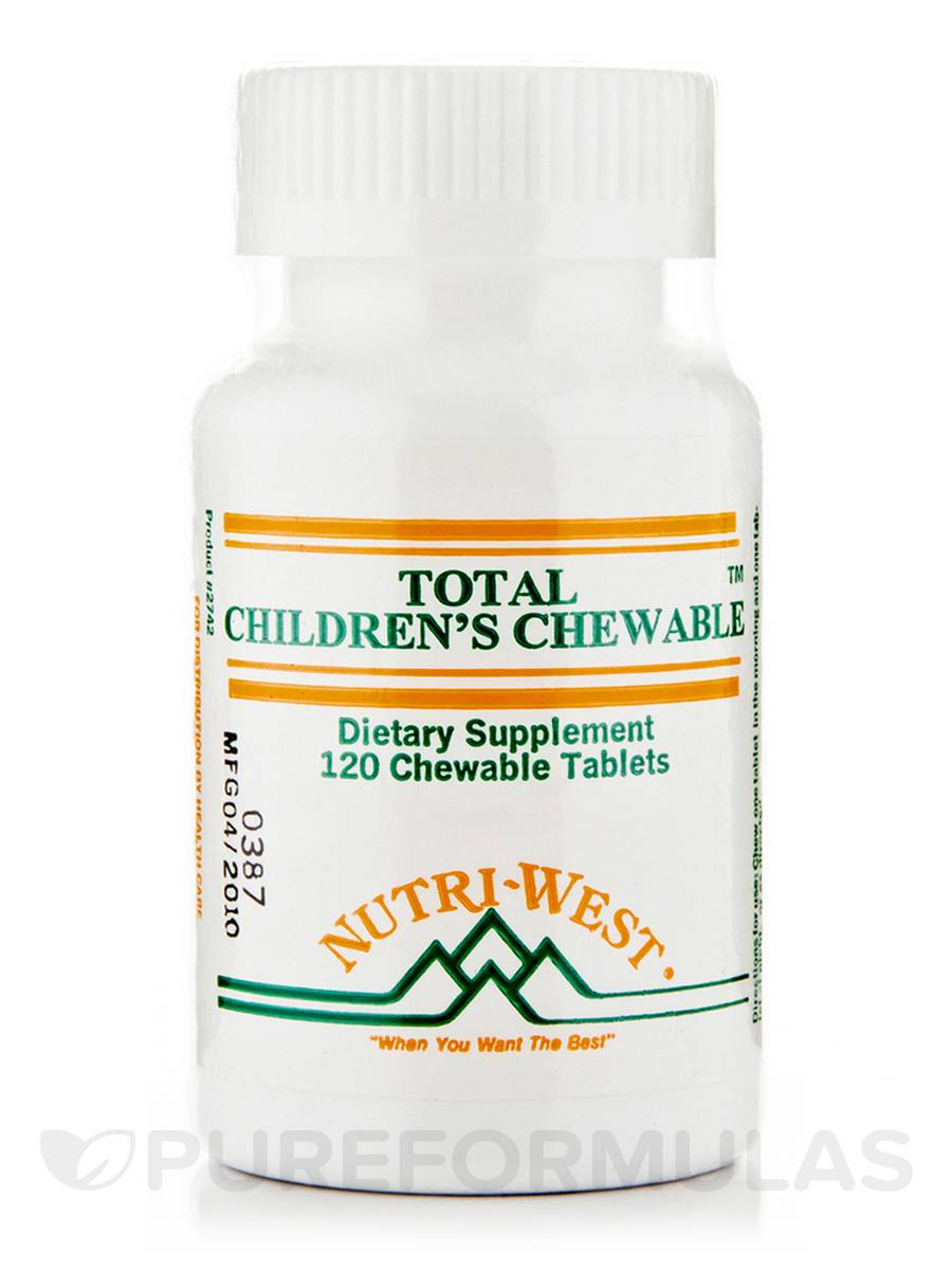 Total Children's Chewable - 120 Chewable Tablets