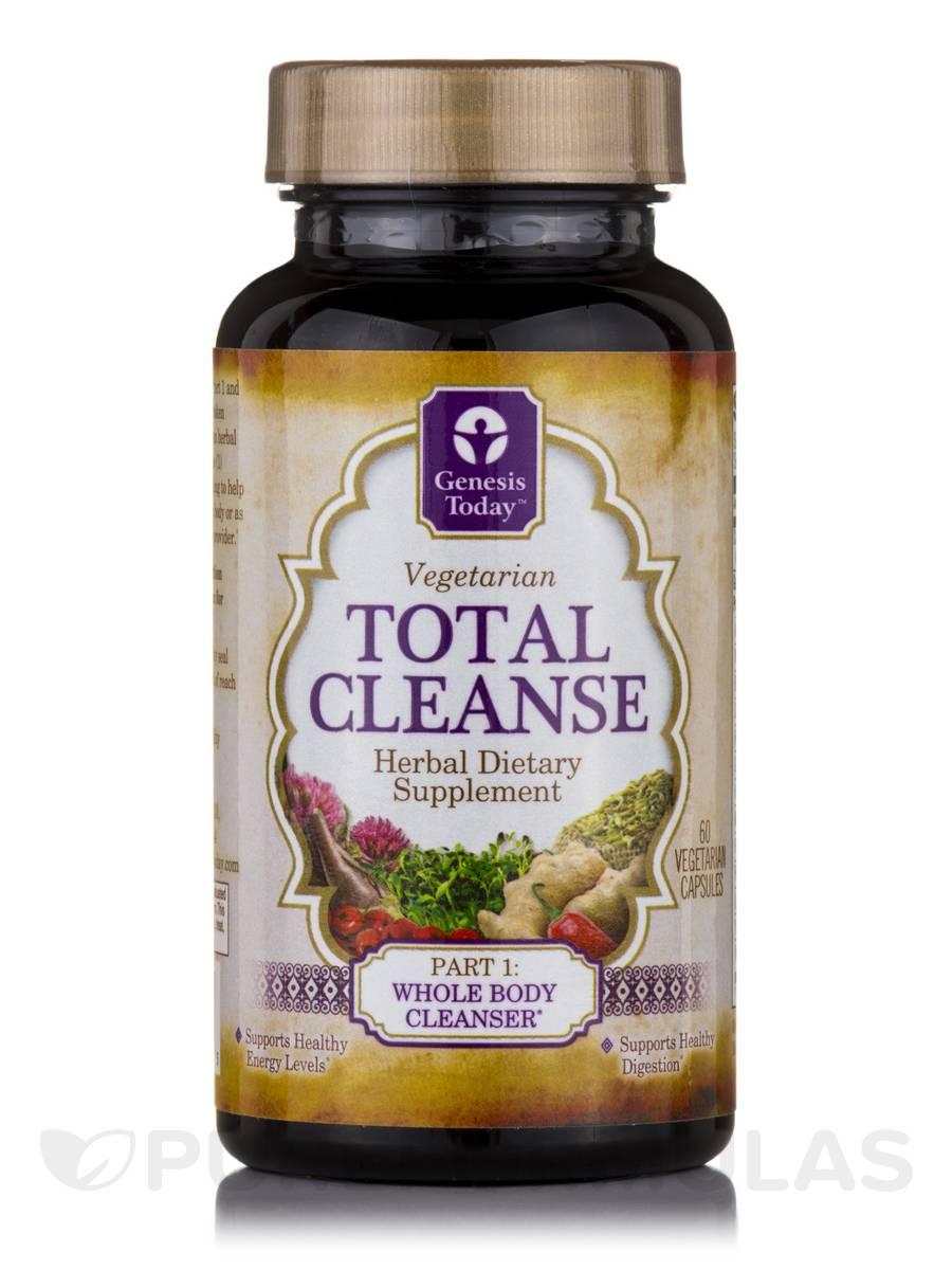 Total Cleanse Part 1 - 60 Vegetarian Capsules