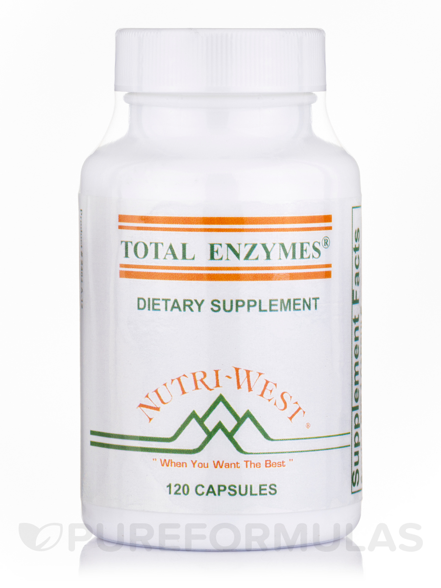 Total Enzymes - 120 Capsules