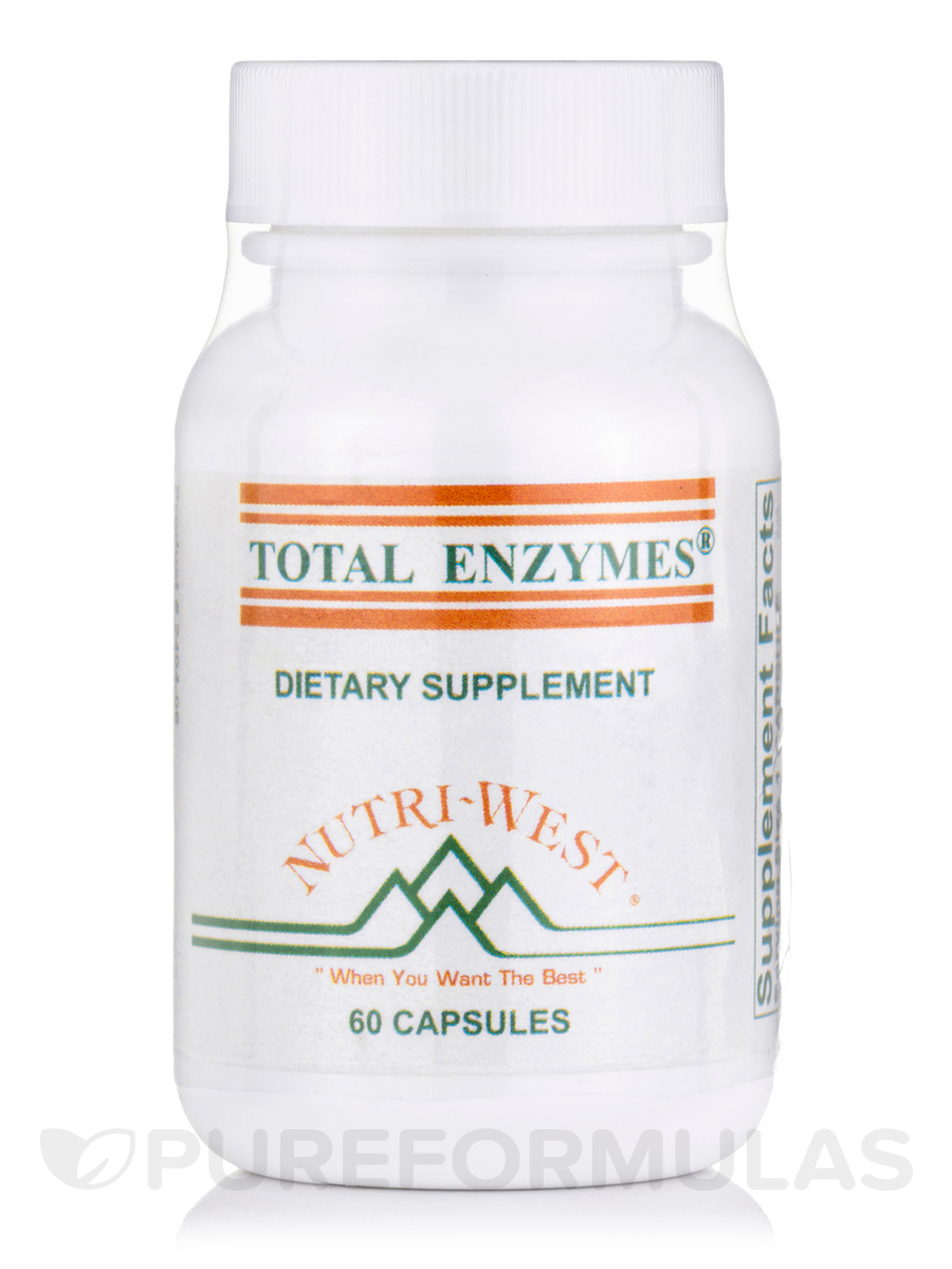 Total Enzymes - 60 Capsules