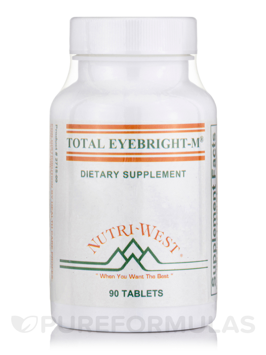 Total Eyebright-M - 90 Tablets