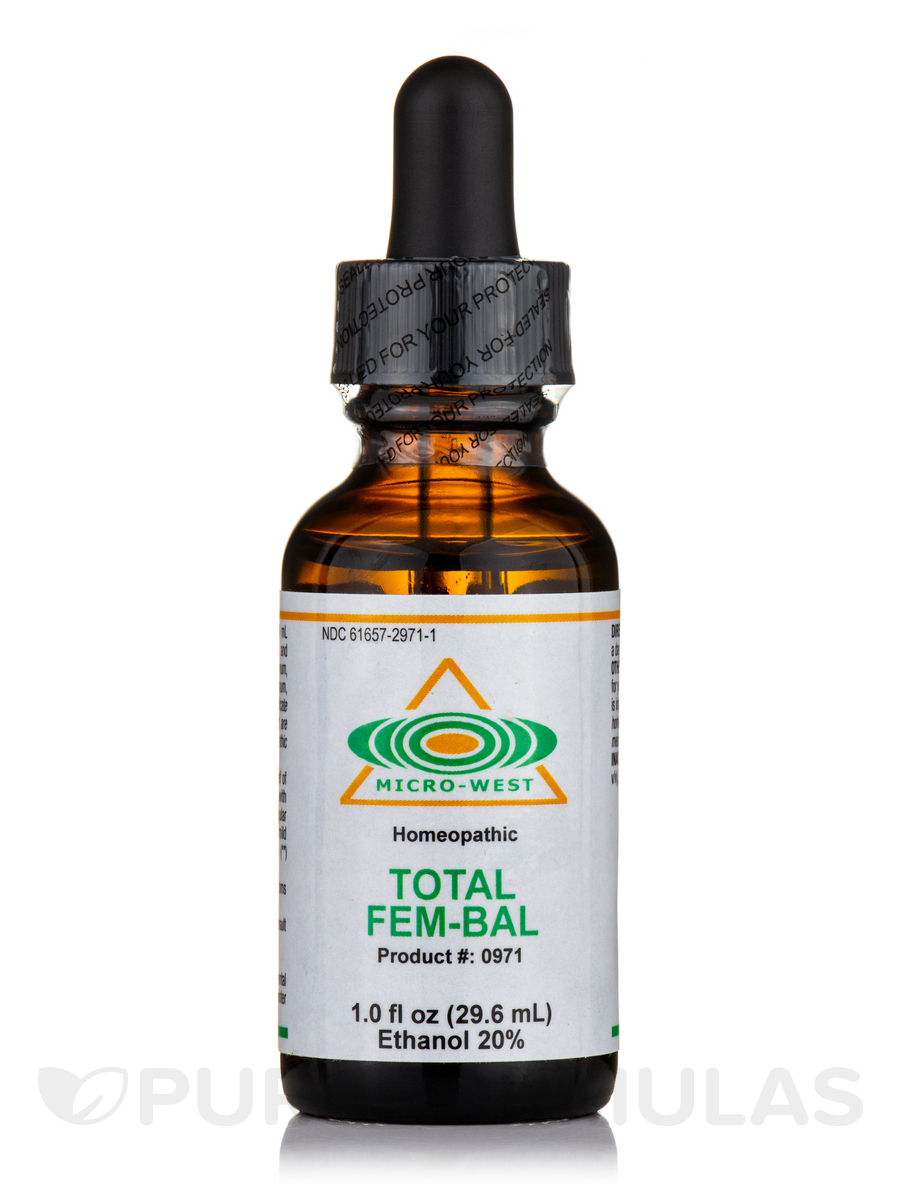 Total Fem-Bal (Homeopathic) Sublingual Spray - 1 fl. oz