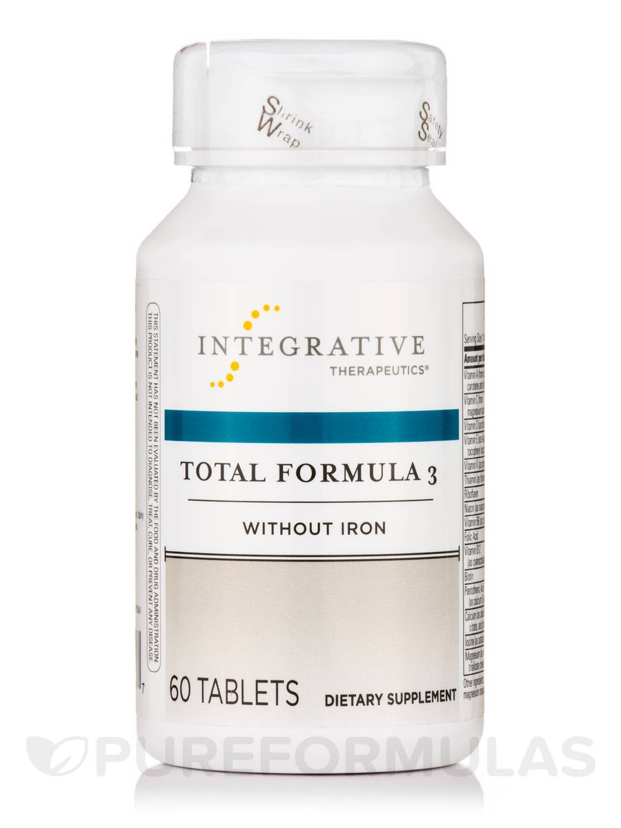 Total Formula 3 without Iron - 60 Tablets