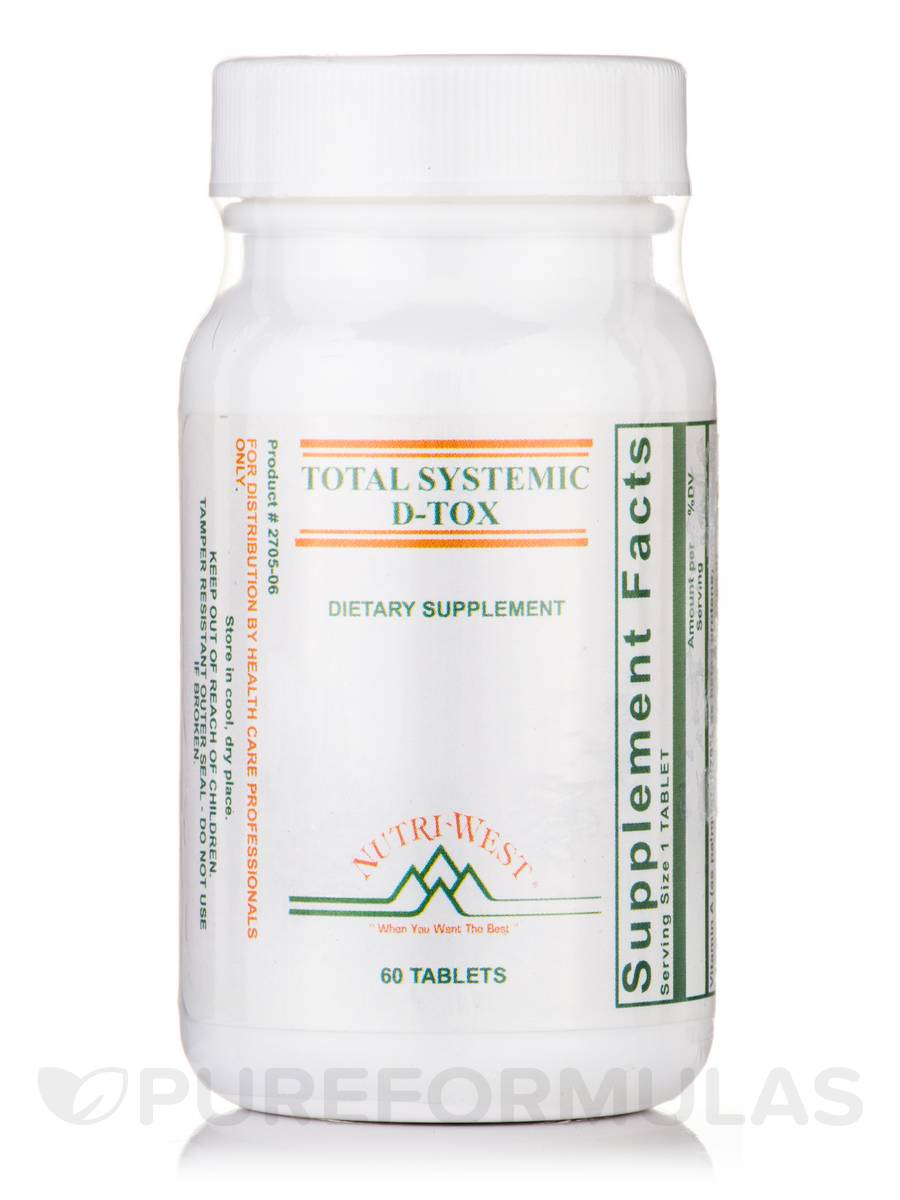 Total Systemic D-Tox - 60 Tablets