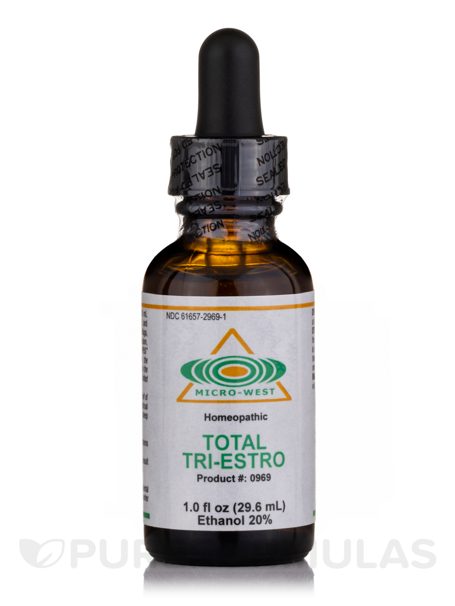 Total Tri-Estro (Homeopathic) Sublingual Spray - 1 fl. oz