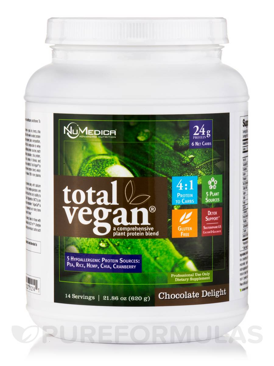 Total Vegan® Chocolate Delight - 21.86 oz (620 Grams)