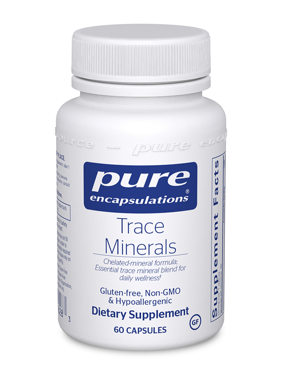 Trace Minerals - 60 Capsules