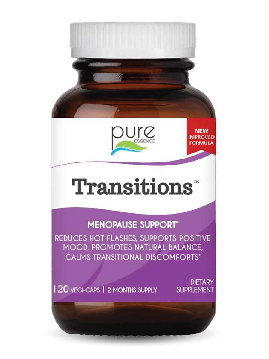 Transitions™ (Herbs for Menopause) - 120 Vegetarian Capsules