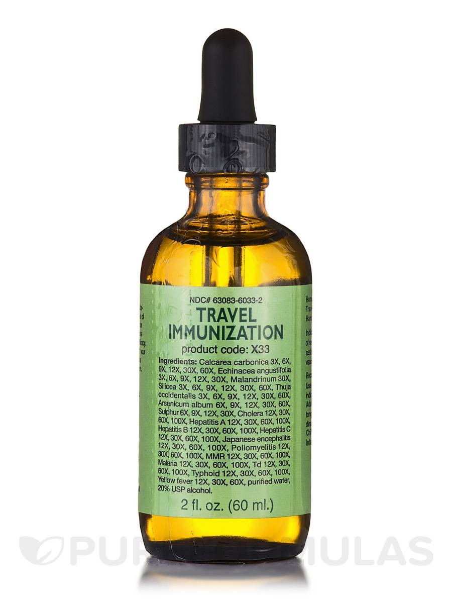 Travel Immunization Drops - 2 fl. oz (60 ml)