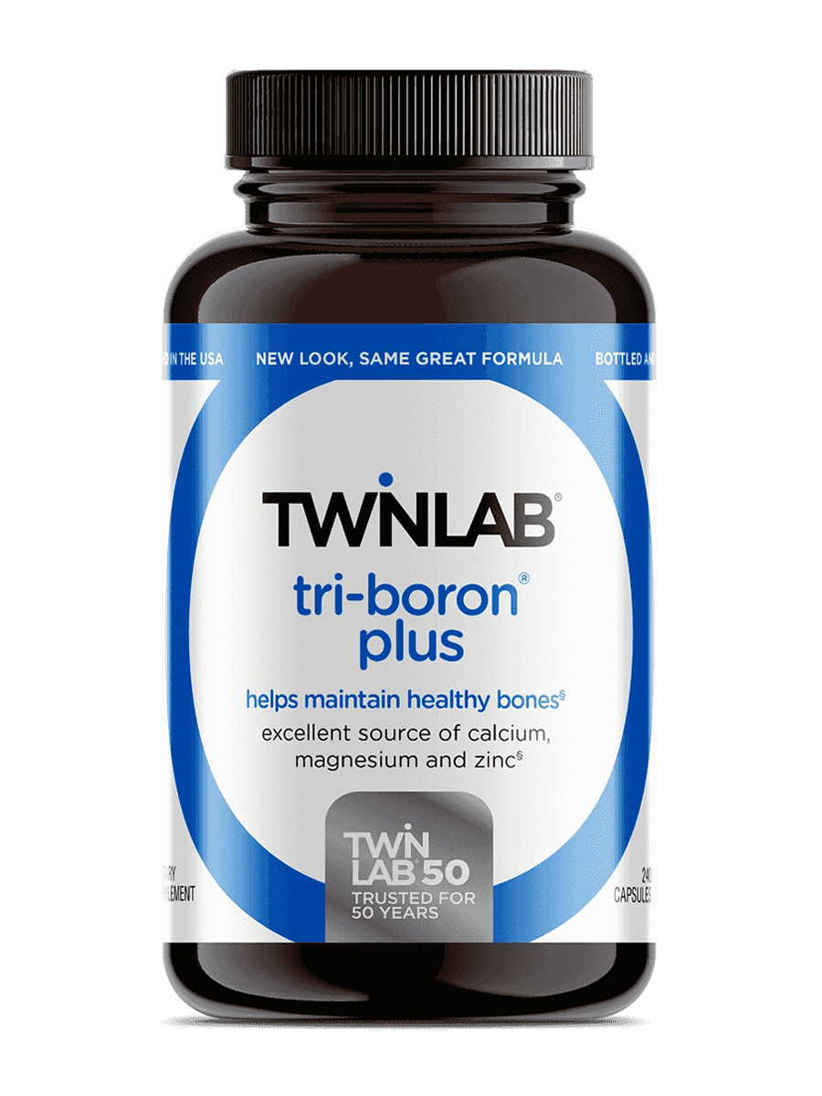 Tri-Boron Plus Magnesium, Vitamin D and Co-Factors - 240 Capsules