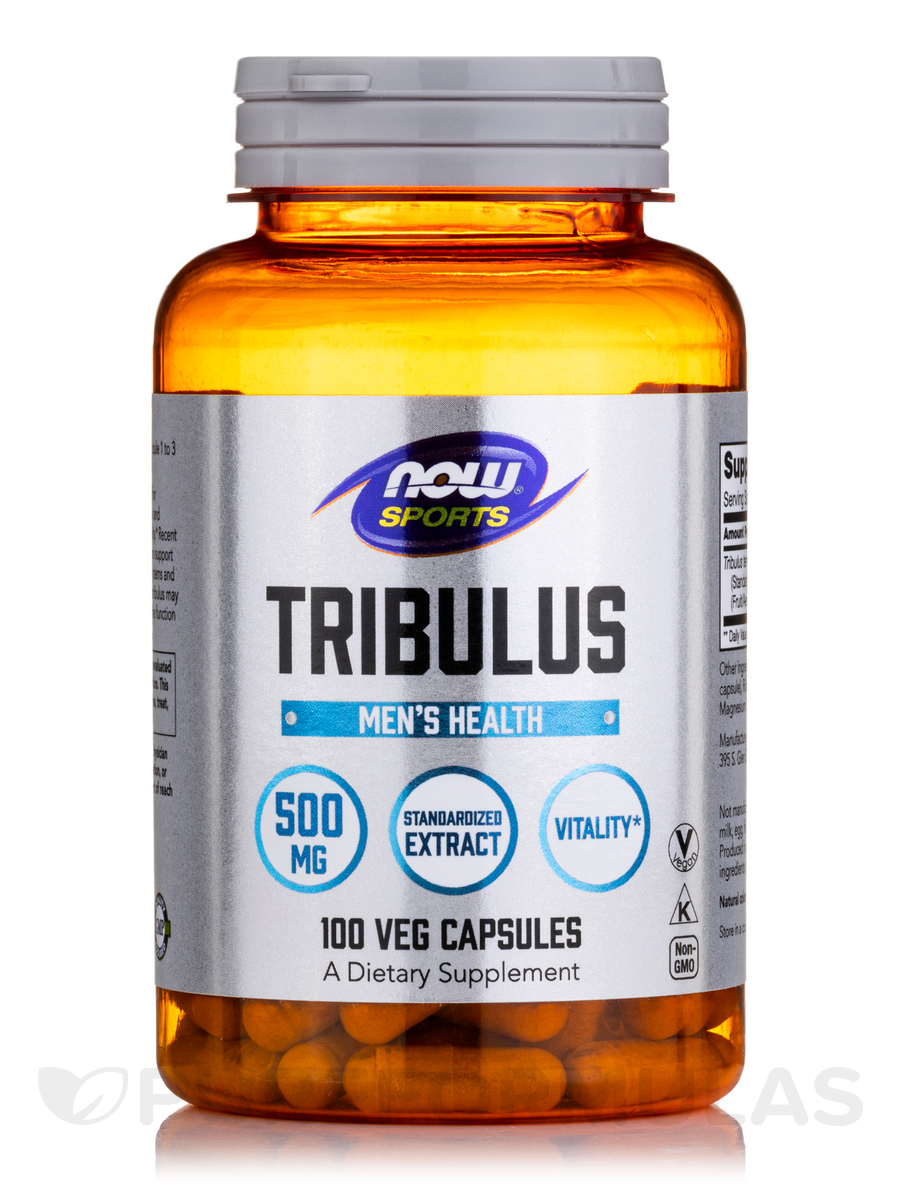 NOW® Sports - Tribulus 500 mg - 100 Capsules