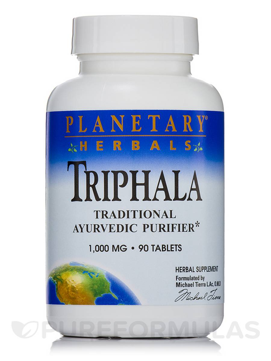 Triphala 1000 mg - 90 Tablets