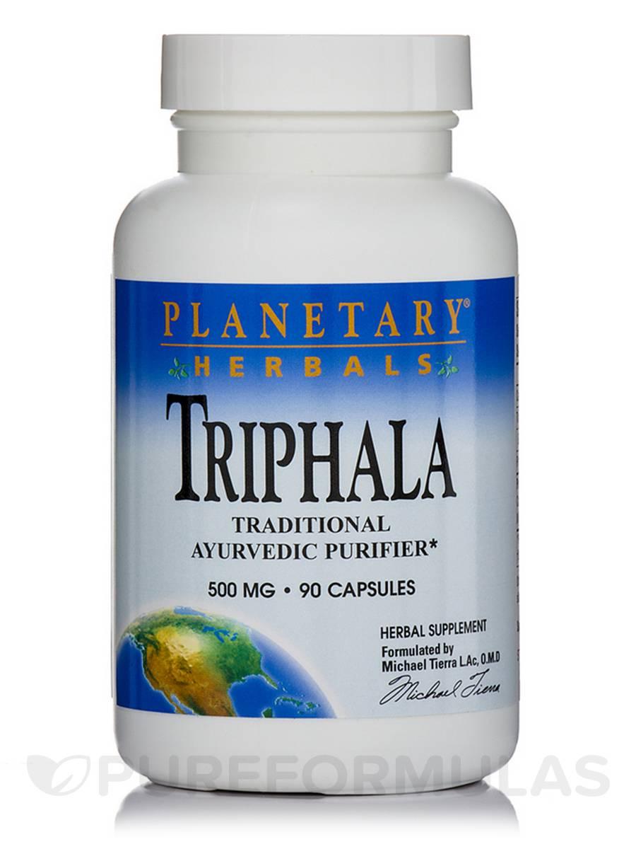 Triphala 500 mg - 90 Capsules