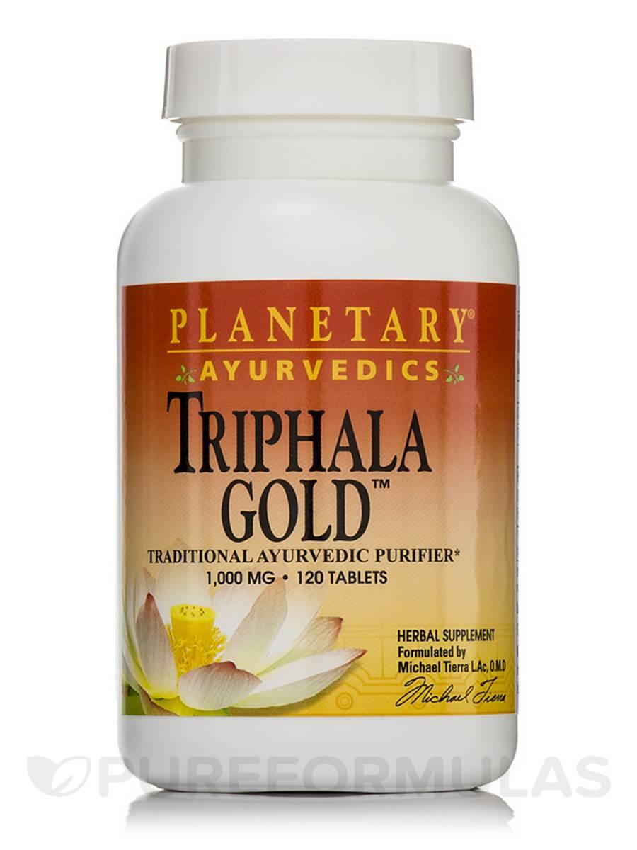 Triphala Gold 1000 mg - 120 Tablets