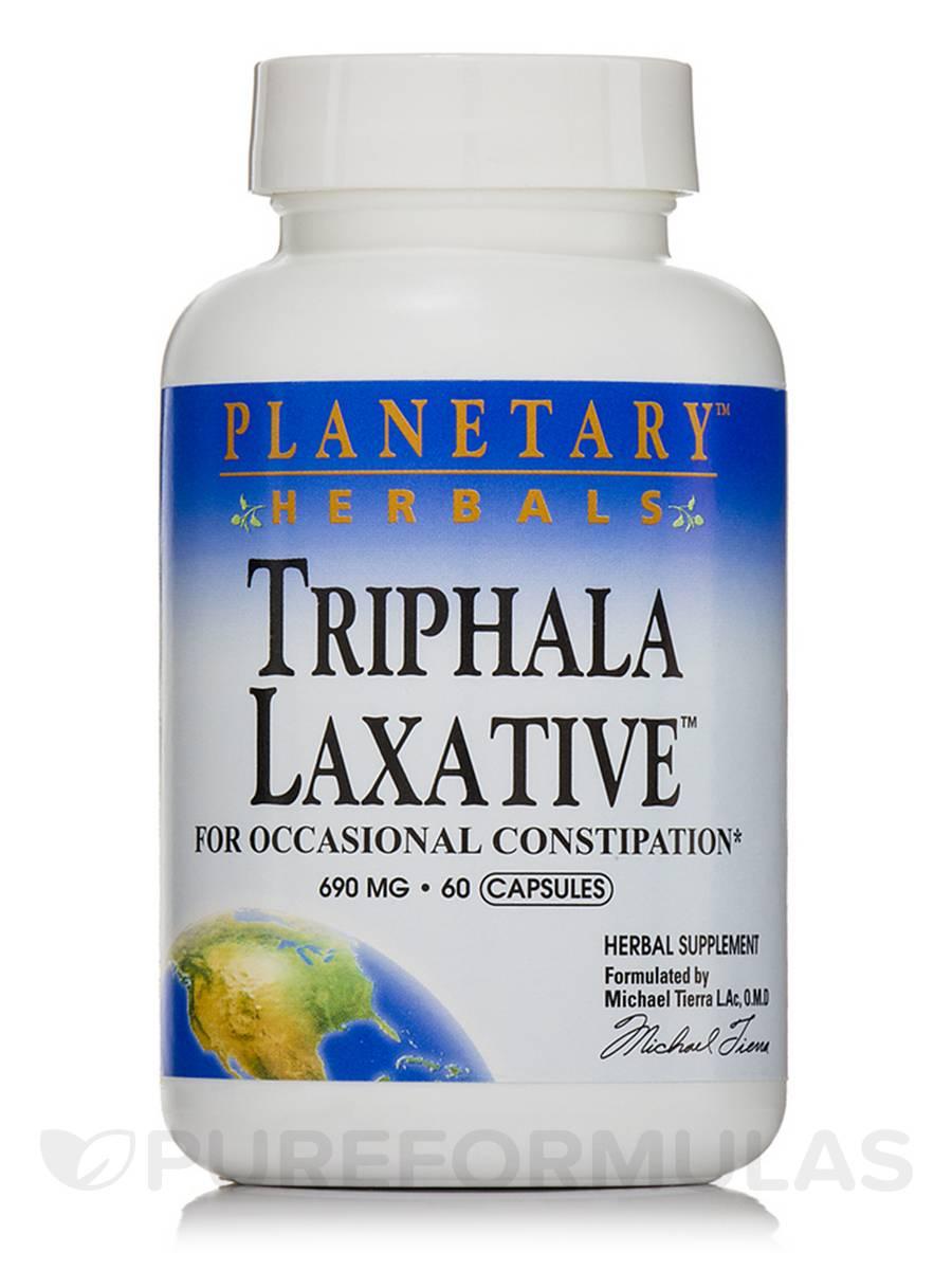 Triphala Laxative 690 mg - 60 Capsules