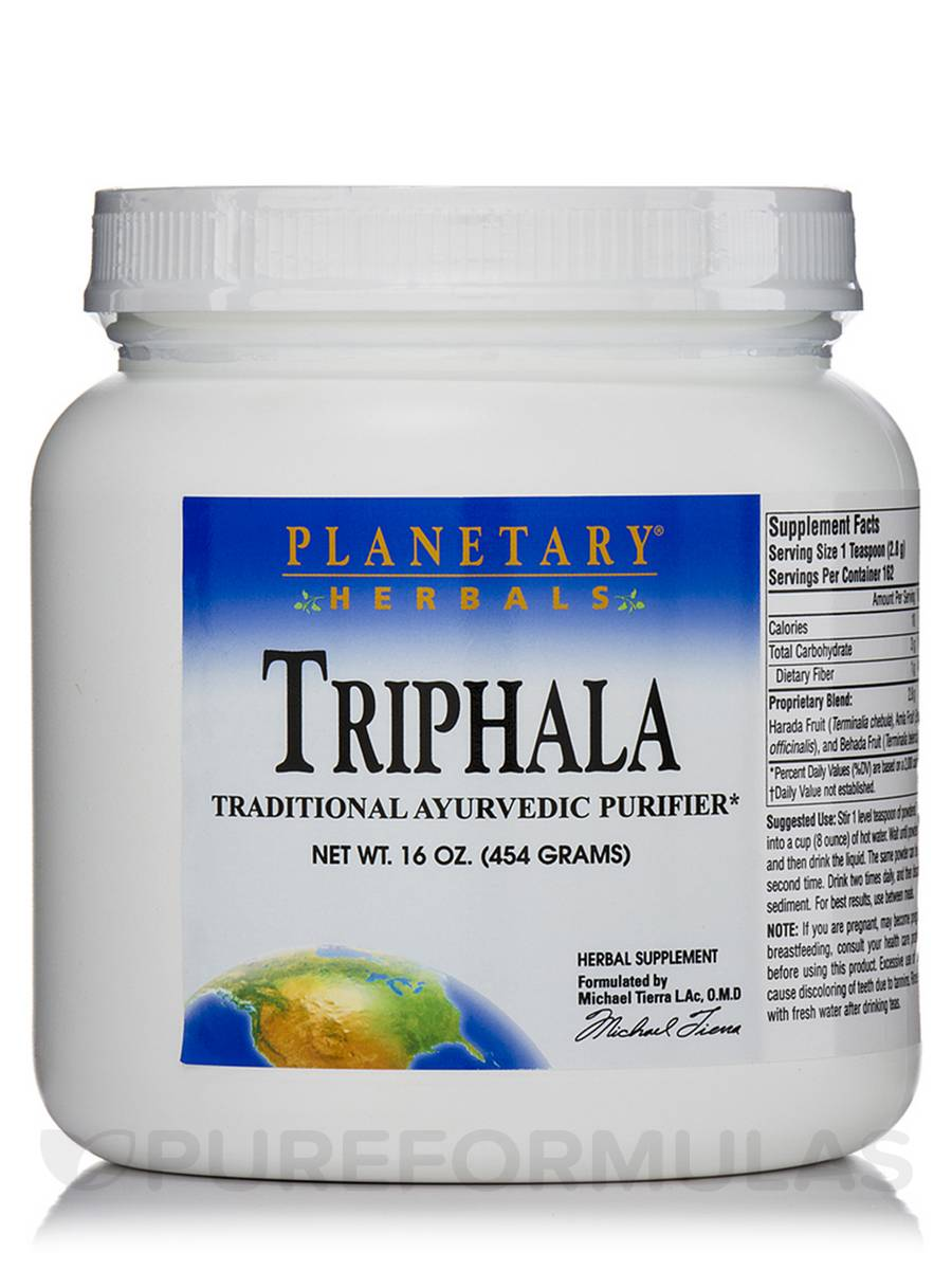 Triphala Powder - 16 oz (454 Grams)