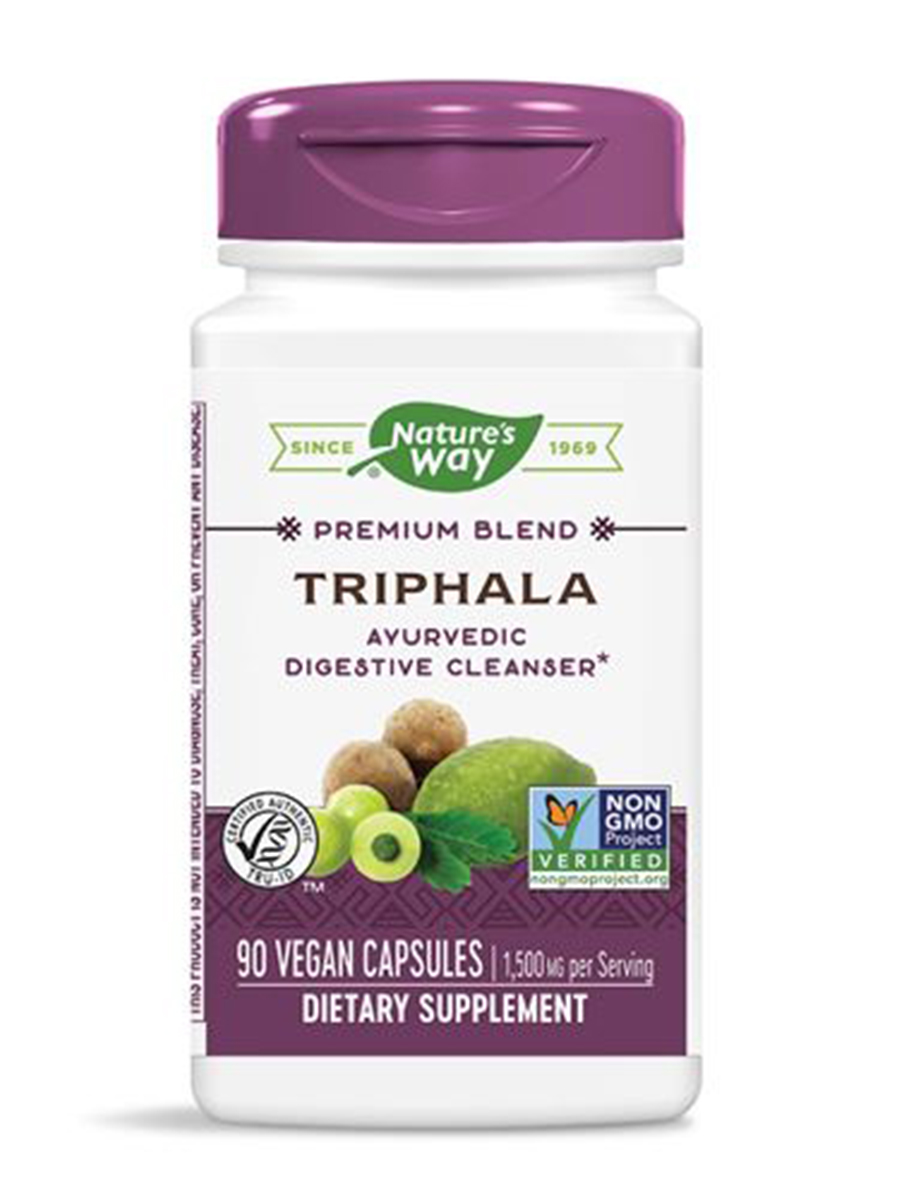 Triphala Standardized - 90 Vegetarian Capsules