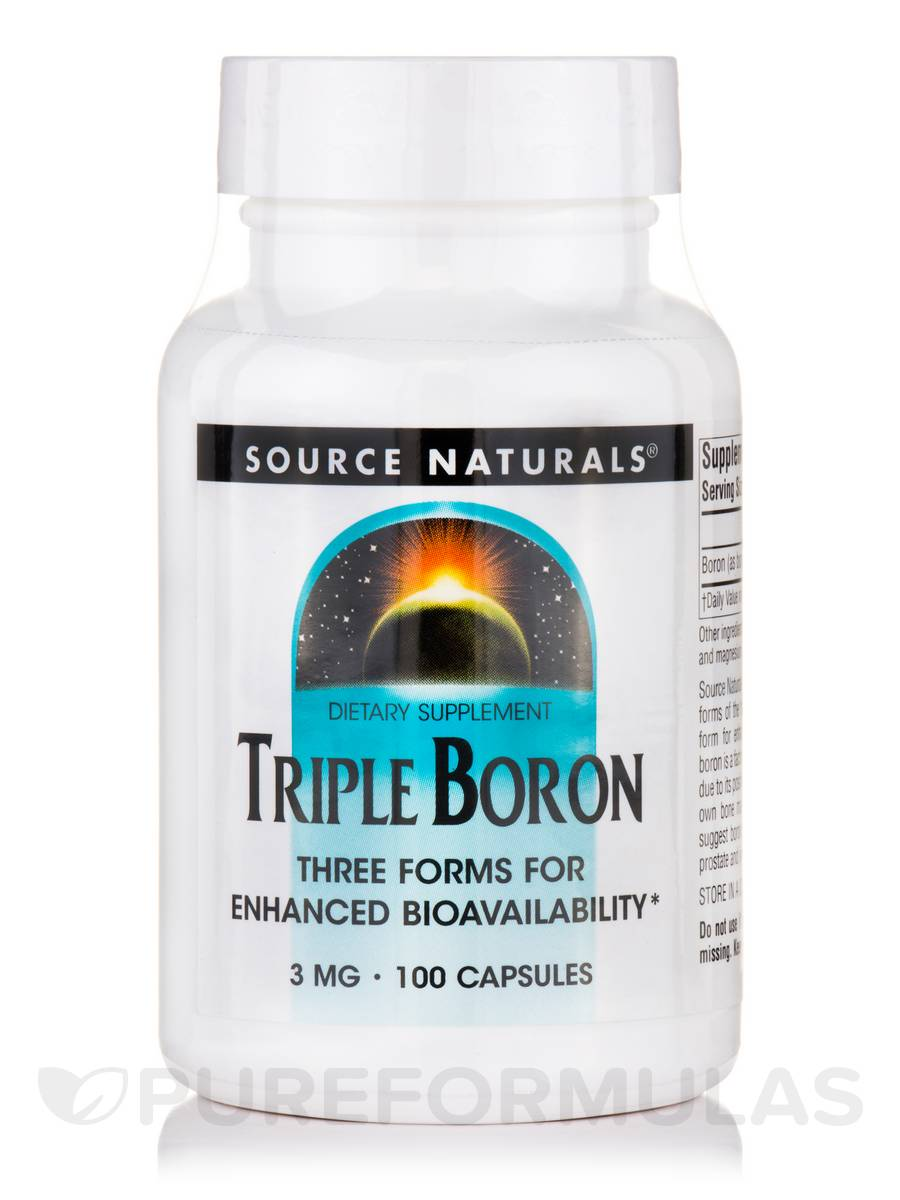 Triple Boron 3 mg - 100 Capsules