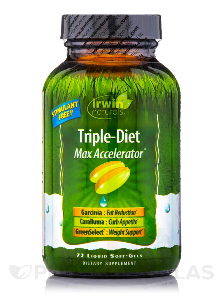 Triple-Diet Max Accelerator - 72 Liquid Soft-Gels