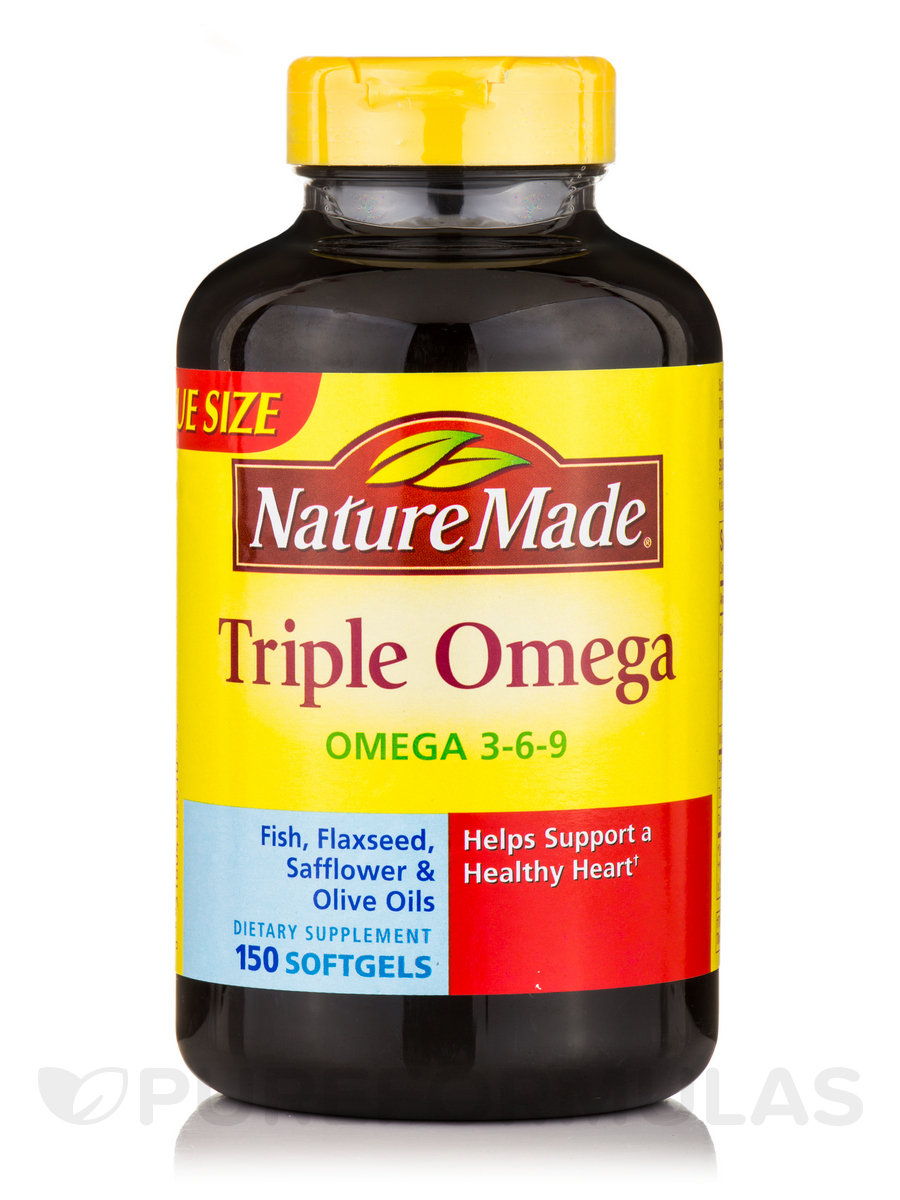 Triple Omega 3 6 9 150 Softgels