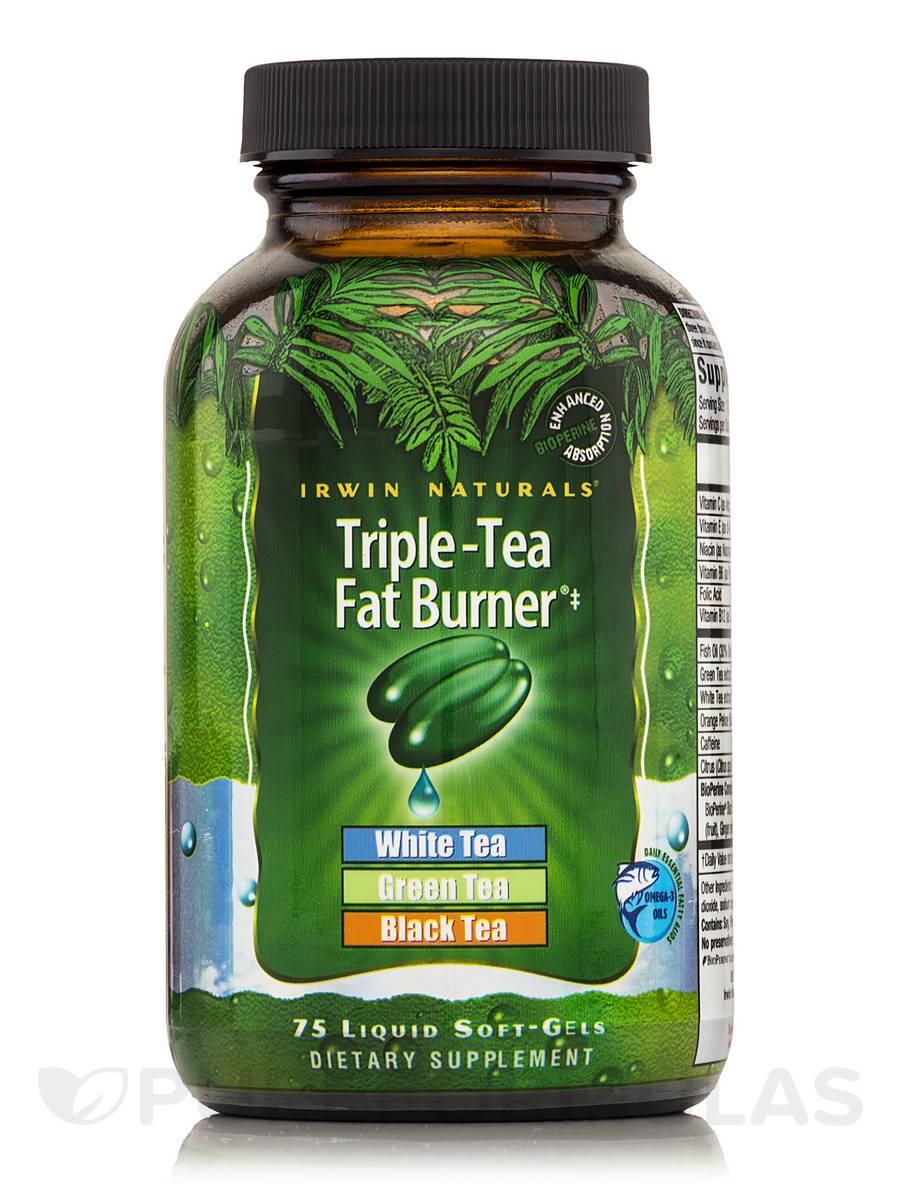 Triple Tea Fat Burner - 75 Liquid Soft-Gels
