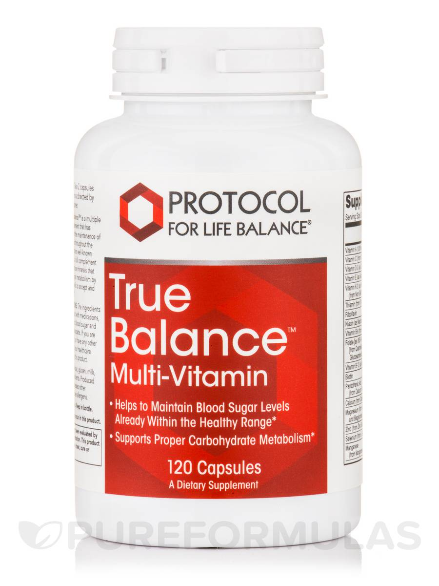True Balance™ Multi-Vitamin - 120 Capsules