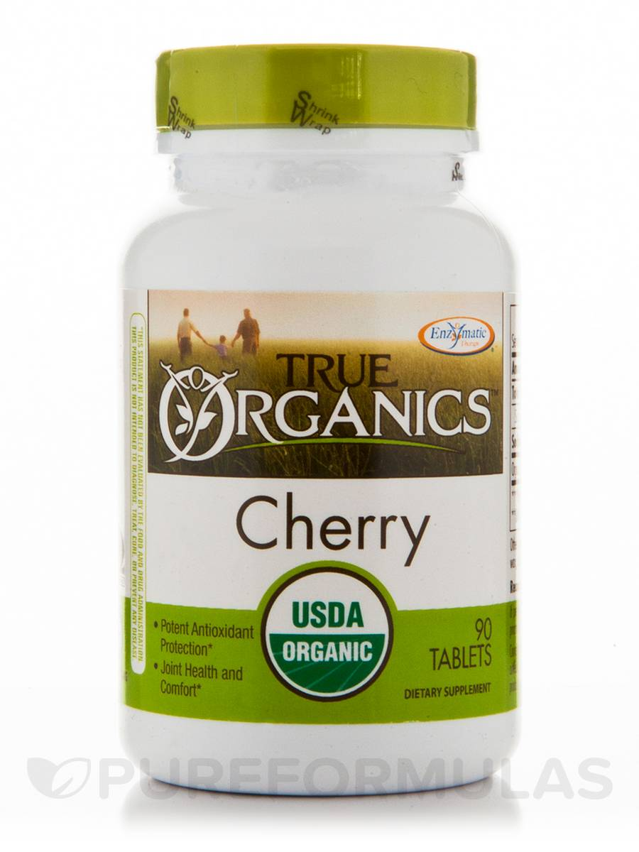 True Organics Cherry - 90 Tablets