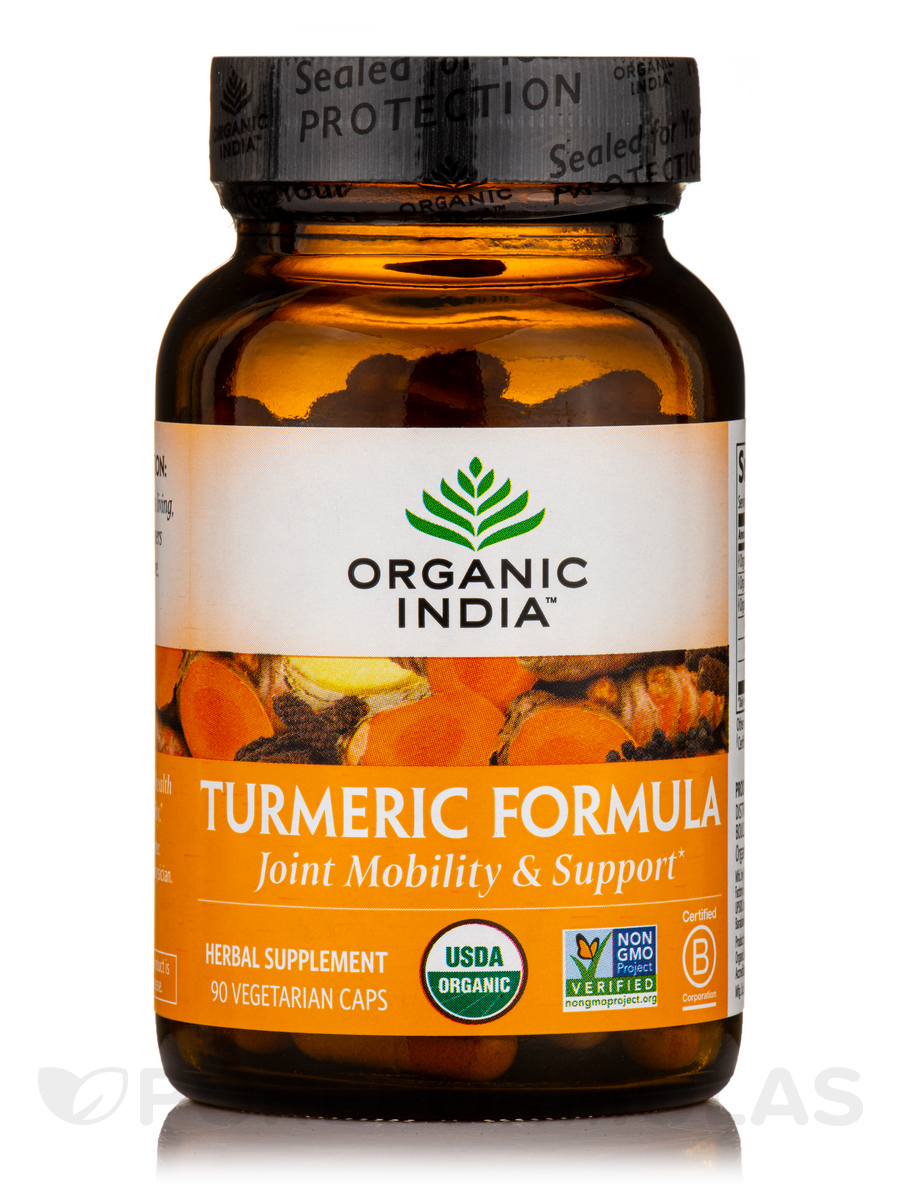 Turmeric Formula - 90 Vegetable Capsules