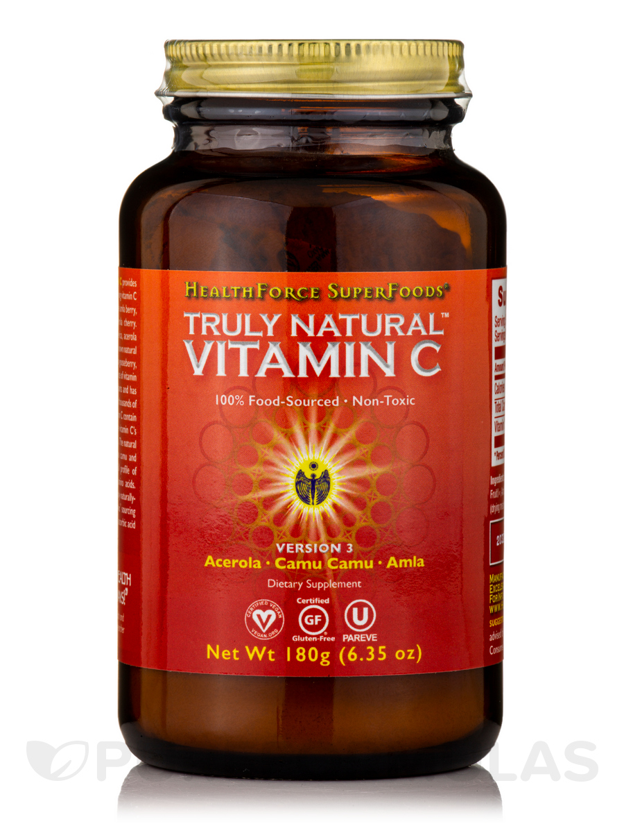 Truly Natural Vitamin C™ Powder - 6 oz (171 Grams)