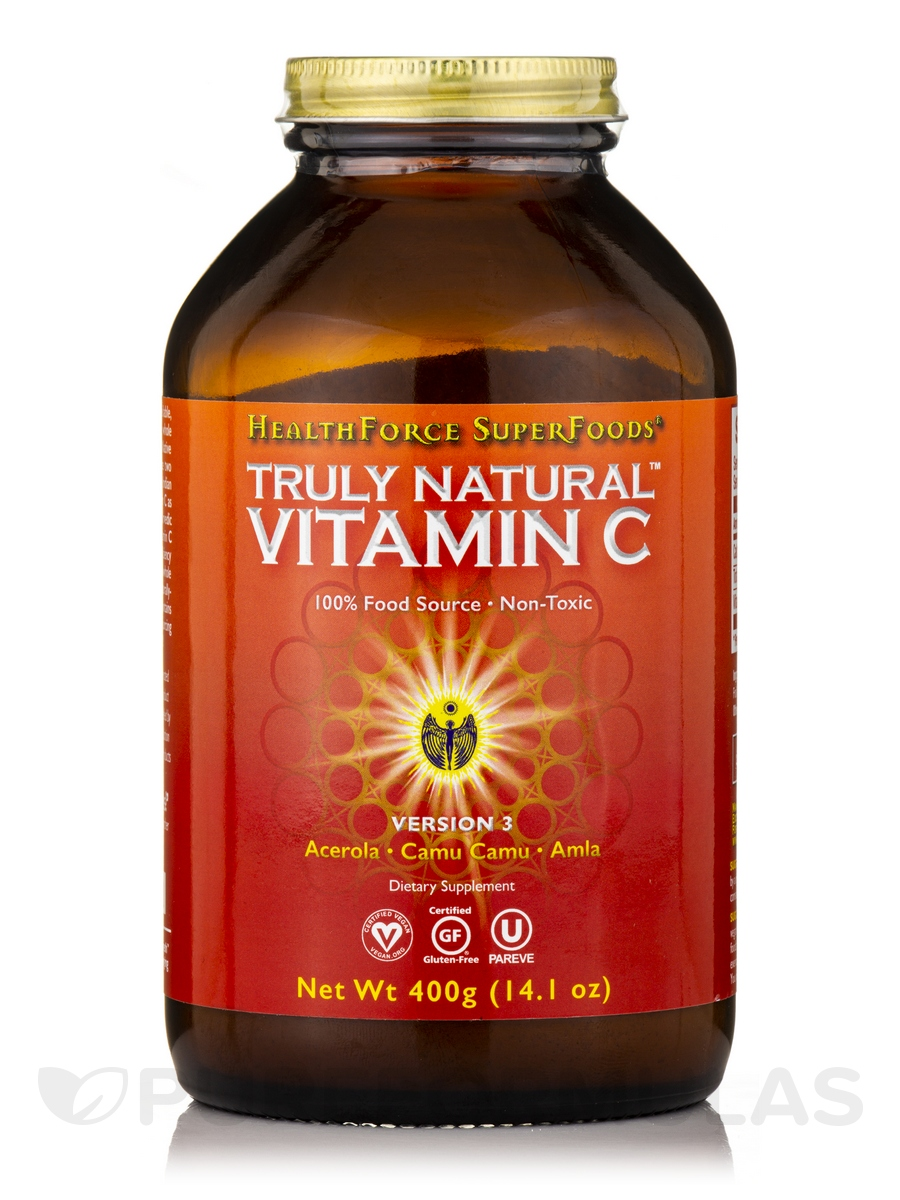Truly Natural Vitamin C Powder 9 52 Oz 270 Grams