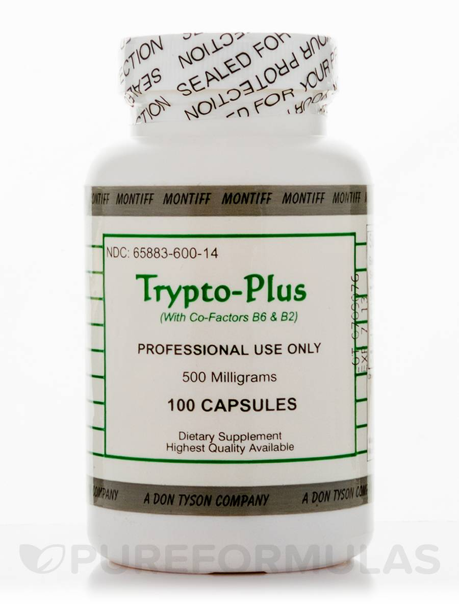 Trypto-Plus 500 mg - 100 Capsules