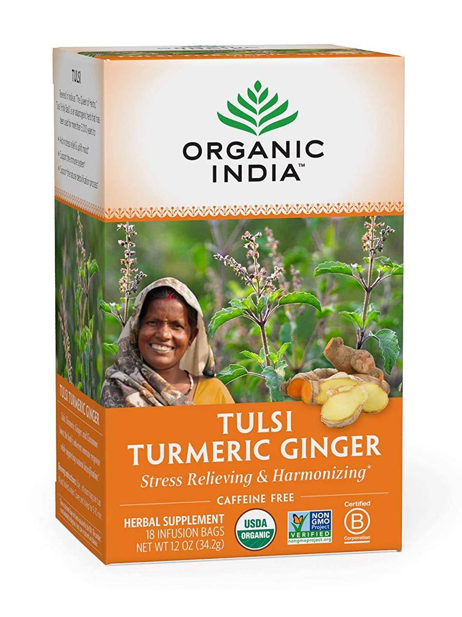 Tulsi Turmeric Ginger Infusion - 18 Bags