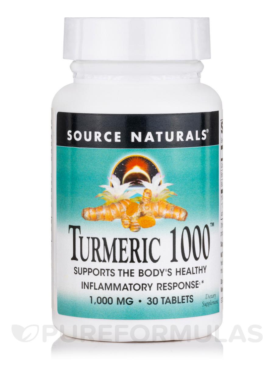 Turmeric 1000 mg - 30 Tablets